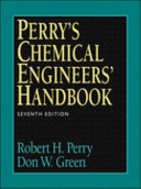 Perry's Chemical Engineers Handbook Student Edition (This Has Been Swapped from 0071159827)
