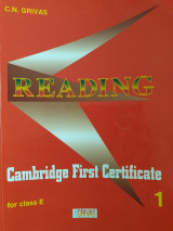 Reading Cambridge First Certificate 1 for class E