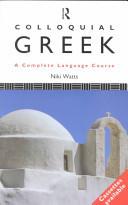 Colloquial Greek