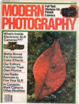 Modern Phootgraphy - November 1979 / $1.75 - ISSN-0026-8240