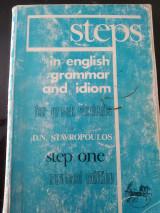 Steps in english grammar and idiom