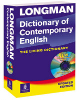 Longman Dictionary of Contemorary English 4th Edition 2005 Update Paper and CD-Rom Update Paper and CD-ROM 2005
