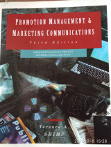 Promotion  Management &Marketing Communications