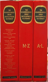 Readers Digest Great Encyclopedic Dictionary