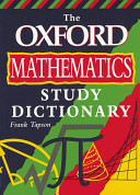 The Oxford Mathematics Study Dictionary