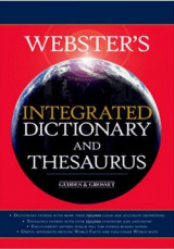 Webster's Integrated Dictionary and Thesaurus