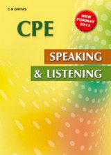 Speaking And Listening Cambridge Proficiency Student's Book 2013 new edition