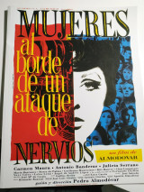 Mujeres al borde de un ataque de nervios (pressbook)