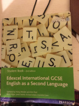 Edexcel I nternational GCSE English as a Second Language