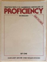Practice Tests for Cambridge Certificate of Proficiency in English
