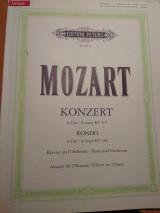 Mozart konzert a dur kv414 rondo a dur kv386 klavier und orchester