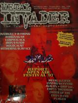 Metal Invader Τεύχος Nο 012, Οκτώβριος 1997